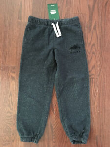 Roots gray unisex track pants NWT size 7