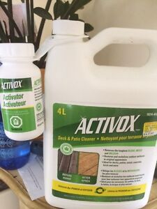 ACTIVOX wood deck or fence cleaner