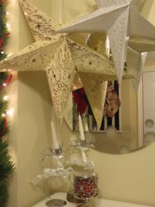 Christmas decor - reindeer and stars