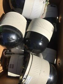 JVC CCTV SPEED DOMES (22 AVAILABLE) £10 EACH