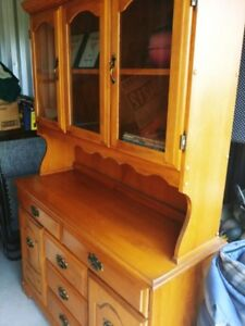 Beautifully Maintained Large China Cabinet