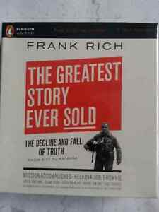The Greatest Story Ever Sold  by  Frank Rich  AUDIO