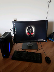 """Alienware X51 with 19"""" Monitor."""