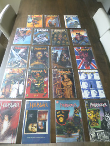 Hellblazer 38 to 85 assorted, prices in ad