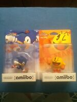 Sonic and Pac-Man amiibo