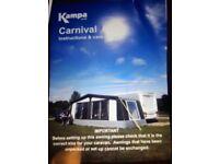 Kampa Carnival Awning 900 Charcoal