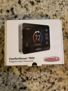 Lennox Comfortsense touch screen thermostat