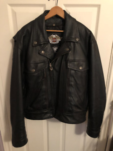 Harley Davidson leather jacket with removable liner *brand new*