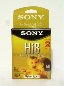 Sony Hi8 Digital Camcorder Tapes - NEW