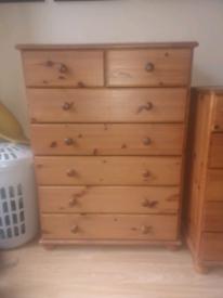 2 set Pine Drawers