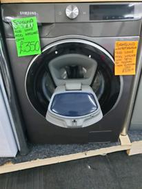 Grey samsung 9kg load washing machine
