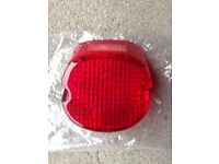 Harley lay down tail light cover with led bulb new