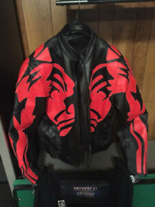 Darth Maul Leather Jacket Cafe Style