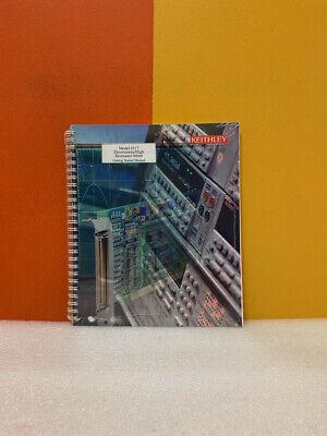 Keithley 6517-903-01b Model 6517 Electrometerhigh Resistance Meter Start Manual