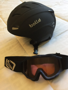 Kids Bollé Ski Helmet and Goggles