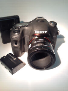 SONY a77ii, MINT, with 50 2.8 Lens