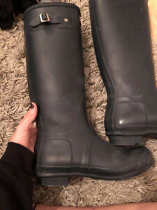 Hunter Boots - Size 9 - Perfect Condition!