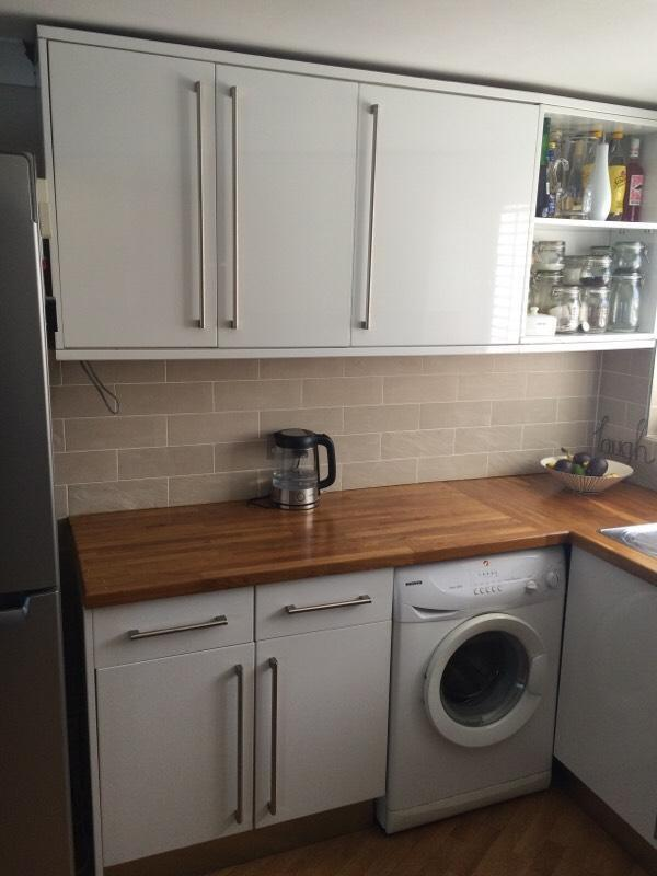 Kitchen Units Appliances And Oak Worktop In Richmond London Gumtree
