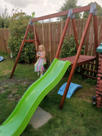 TP Double Swing and Slide Set