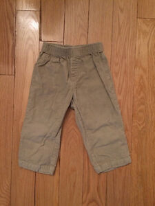 18m Toddler pull-on corduroy pants. Never worn.