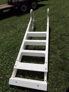 Resin Above Ground Heavy Duty Pool Ladder