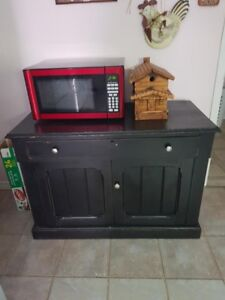 Black Hutch Antique