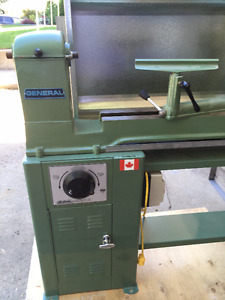 General Wood Lathe - Full Size, Variable Speed - Like New