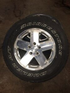 "Jeep Wrangler 18"" wheels & tires Kitchener / Waterloo Kitchener Area image 4"