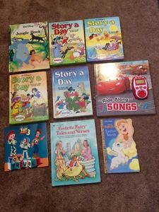 Disney book lot 9