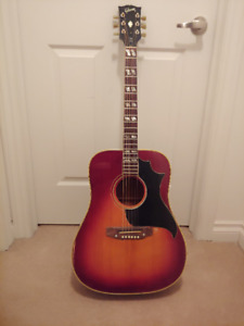 Gibson Southern Jumbo 1970-1972  Tag Gibson acoustic vintage