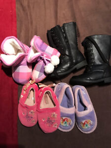 Size 7/8 slipper and dress boots