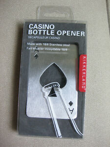 Kikkerland Playing Card Casino Bottle Opener