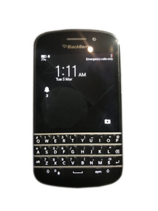 Blackberry Q10 - Locked to Rogers - Telus - Wind Mint Condition!