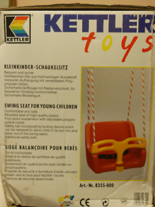 Swing seat for young children