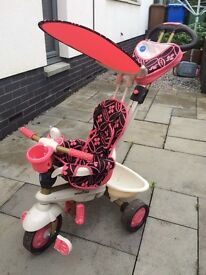 Smart trike - pink