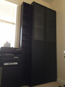 IKEA - Bookcase - 99% New & comes with free DVD shelves