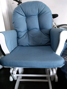 glider with ottoman from best buy