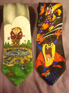 4-Ties Novelties Bugs Bunny Neck Ties & The Gang Peterborough Peterborough Area image 3