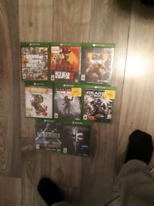 Jeux Xbox one prix dans la description