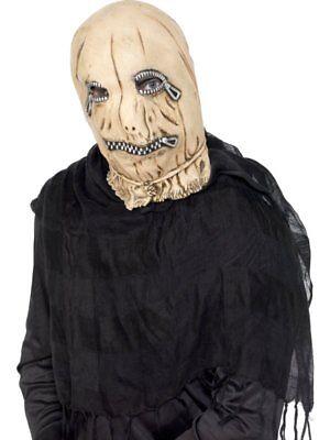 Leatherface Sklave zur Vogelscheuche Zip Maske Halloween