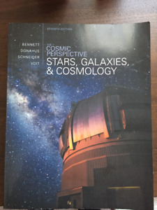 The Cosmic Perspective: Stars, Galaxies, & Cosmology NATS 1585