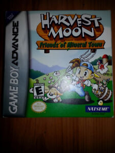 harvest moon GBA mint with box