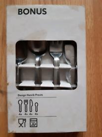 NEW IKEA 16-Piece Bonus Cutlery Set