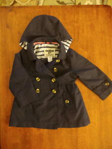 Spring/Fall Pea Coat - 18months