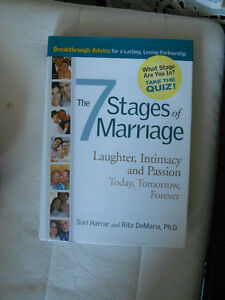 The 7 stages of marriage book Kitchener / Waterloo Kitchener Area image 1