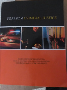 SOCI 2520 - Pearson Criminal Justice Deviant Behaviour  Textbook