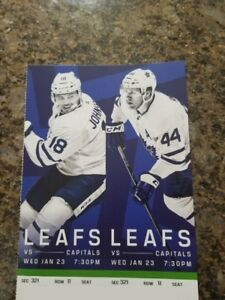 Capitals vs Maple Leafs - Wed. Jan 23rd, 7:30 PM DEAD CENTER