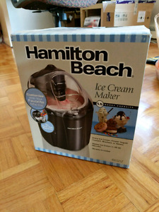 Hamilton ice cream maker!!