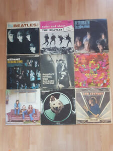 Cheap!!! Vinyl Records/LP Early Pressings Beatles Stones Marley