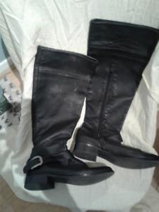 "Ladies, ""Joe"" leather boots"